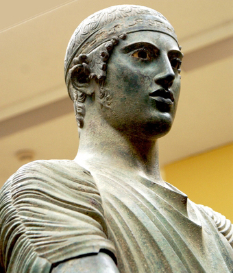 The Bronze Charioteer, Delphi Museum